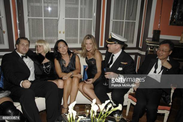 Group attends ULLA KEVIN PARKER Hosts a James Bond Themed Cocktail Party at Private Residence on October 23 2009 in New York City