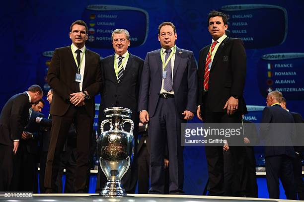 Group B managers Stefan Tarkovic Assistant coach of Slovakia Roy Hodgson Manager of England Leonid Slutski Manager of Russia Chris Coleman Manager of...