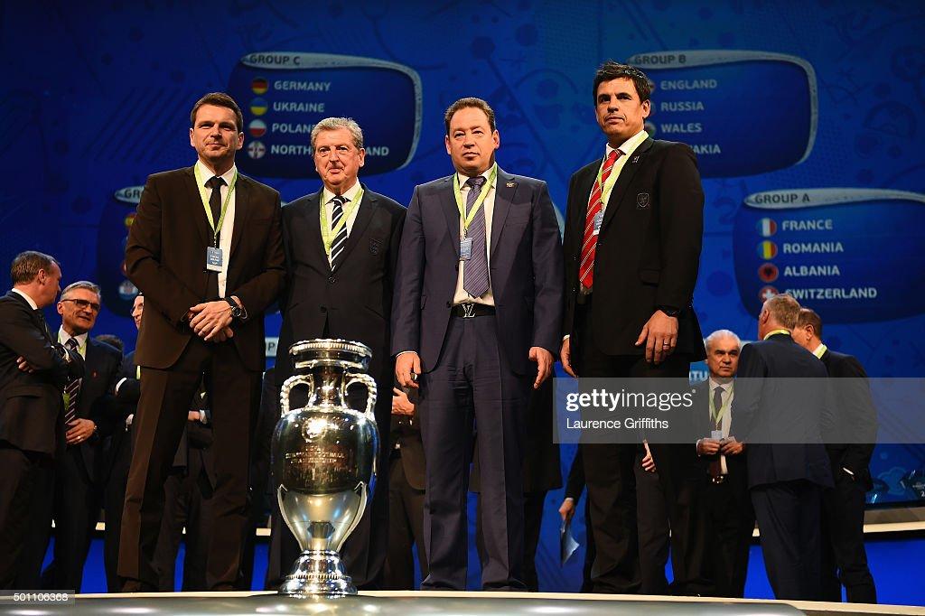 UEFA Euro 2016 Final Draw Ceremony : News Photo