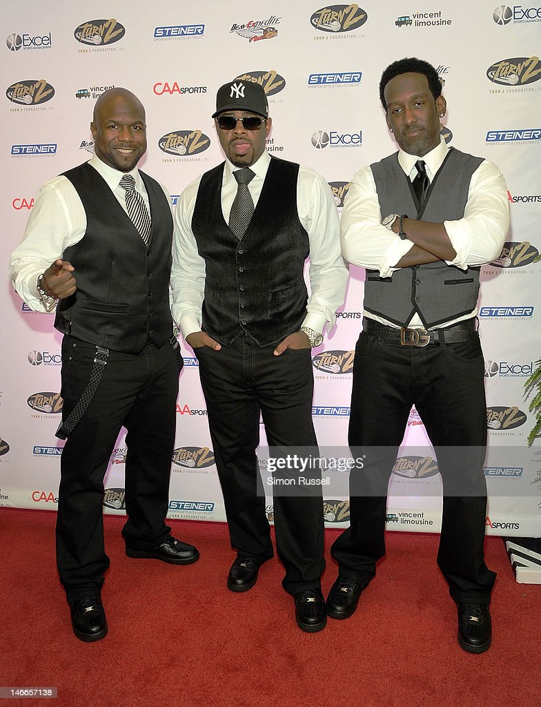 Group Boyz II Men attends the 16th Annual Turn 2 Foundation Dinner Hosted By Derek Jeter at New York Sheraton Hotel & Tower on June 21, 2012 in New York City.