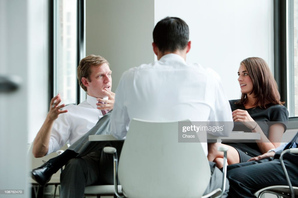 Group Business Meeting : Stock Photo