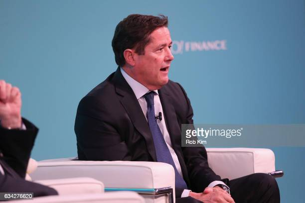 Group CEO Barclays Jes Staley speaks on stage at the Yahoo Finance All Markets Summit on February 8 2017 in New York City