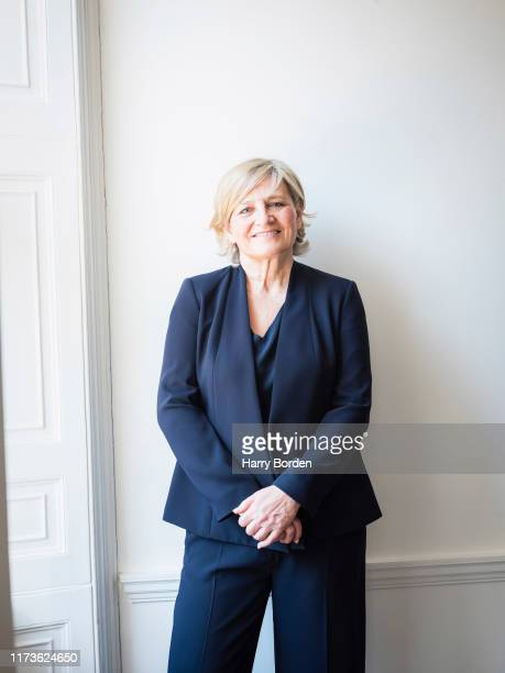 Group chairwoman of Abbott Mead Vickers BBDO advertising agency, Cilla Snowball is photographed for the Fold on January 17, 2019 in London, England.