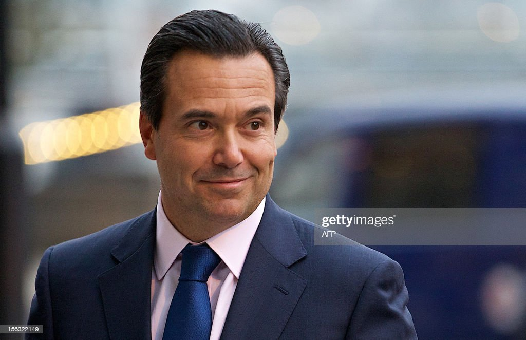 Group Chief Executive of Lloyds Banking Group, Antonio Horta-Osorio, arrives at Portculis House in London, on November 13, 2012, as he prepares to give evidence on Banking Standards to the Parliamentary Commission.
