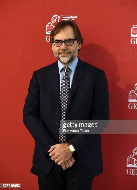 Group Chief Financial Officer of Generali Group Luigi Lubelli attends the Generali shareholders' meeting 2017 on April 27 2017 in Trieste ItalyThe...
