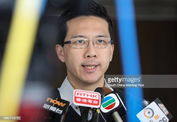 JR Group coconvenor Cary Lo Chunyu appears at High Court The activist group applied for a judicial review seeking to overturn the HK$35 billion Hong...