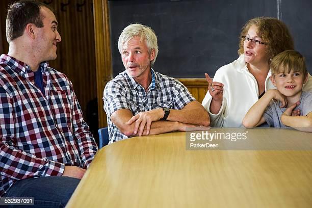 Grupo conferencia, reunión de asesoramiento.