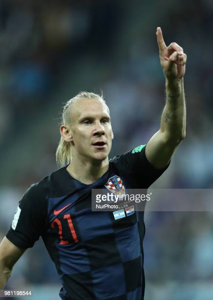Group D Argentina v Croazia FIFA World Cup Russia 2018 Domagoj Vida at Nizhny Novgorod Stadium Russia on June 21 2018