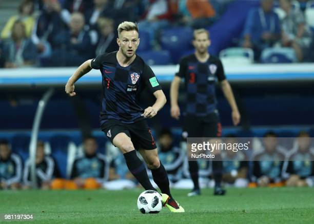 Group D Argentina v Croazia FIFA World Cup Russia 2018 Ivan Rakitic at Nizhny Novgorod Stadium Russia on June 21 2018
