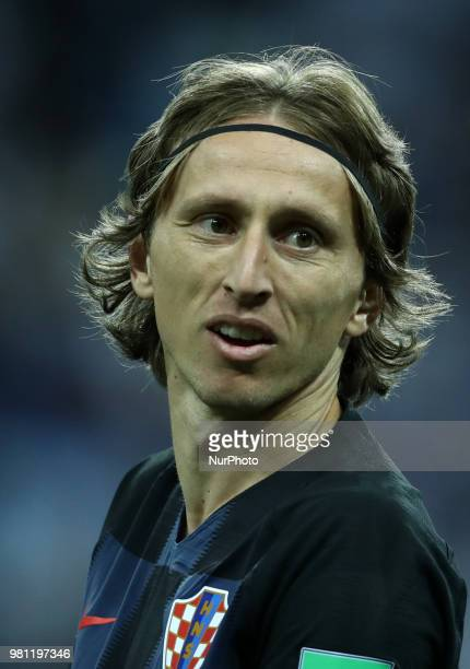 Group D Argentina v Croazia FIFA World Cup Russia 2018 Luka Modric at Nizhny Novgorod Stadium Russia on June 21 2018
