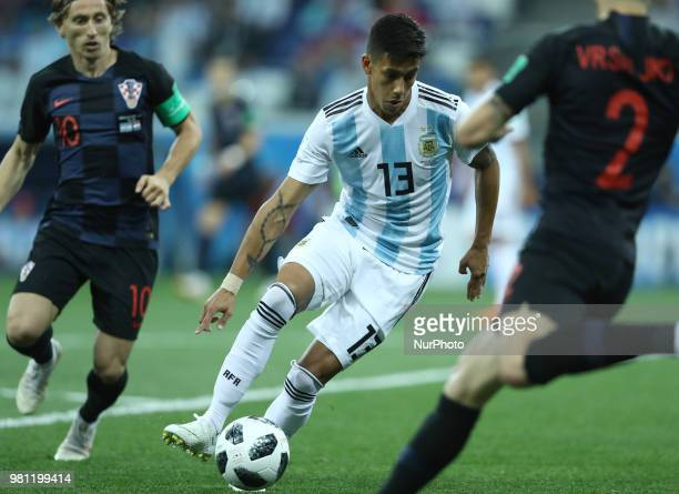Group D Argentina v Croazia FIFA World Cup Russia 2018 Maximiliano Meza at Nizhny Novgorod Stadium Russia on June 21 2018