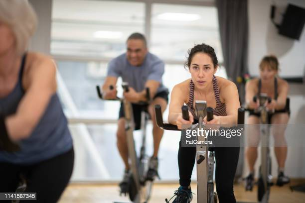 Group spin class