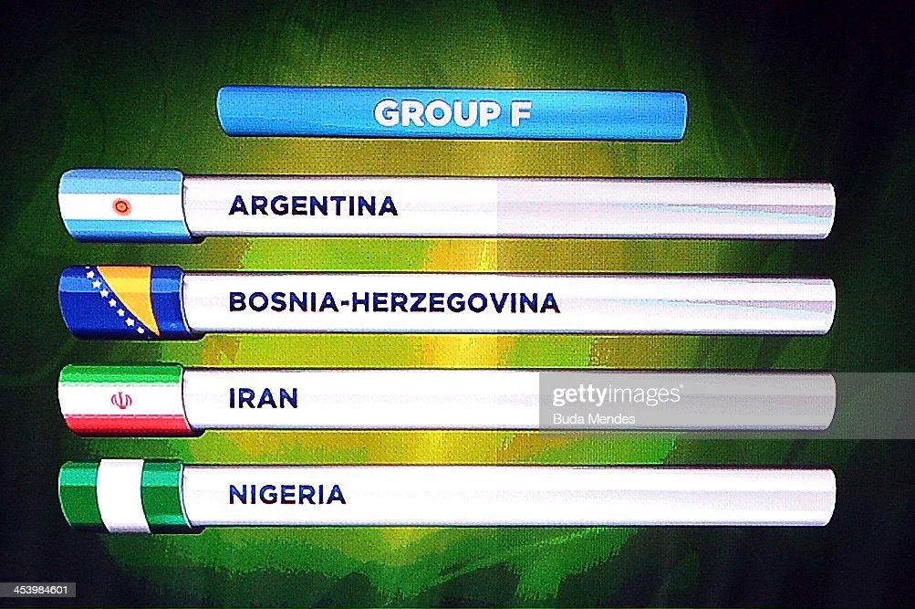 2014 FIFA World Cup Final Draw : News Photo