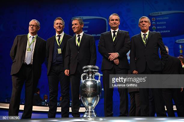 Group F managers Lars Lagerback and Heimir Hallgrimsson Managers of IcelandMarcel Koller Manager of Austria Bernd Storck Manager of Hungary and...