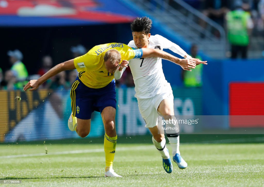 Group F Sweden v Korea Republic - FIFA World Cup Russia 2018 Andreas ... 11a467597