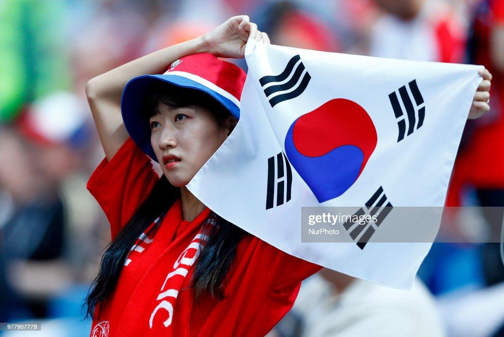 FIFA World Cup 2018 Russia'Sweden v Korea : ニュース写真
