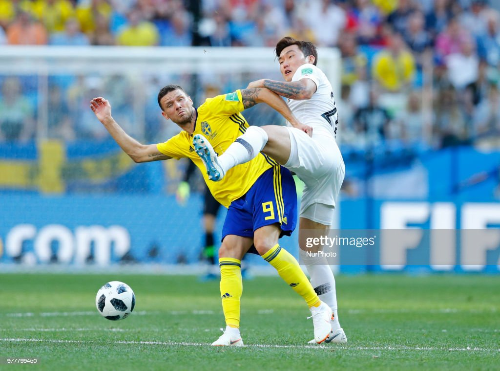 Group F Sweden v Korea Republic - FIFA World Cup Russia 2018 Marcus ... 074a13813