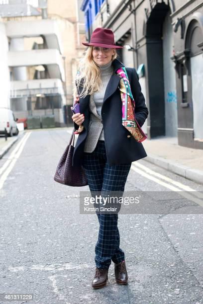 Group Fashion Editor at The Rake Sarah Ann Murray wears a Zara jacket Bespoke under jacket and trousers Hermes scarf Ralph Lauren shoes Bottega...