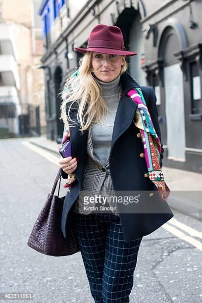 Group Fashion Editor at The Rake Sarah Ann Murray wears a Zara jacket Bespoke under jacket and trousers Hermes scarf Bottega Venetta bag and a Bates...