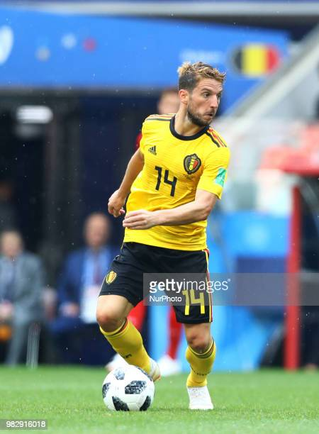 Group G Belgium v Tunisia FIFA World Cup Russia 2018 Dries Mertens at Spartak Stadium in Moscow Russia on June 23 2018