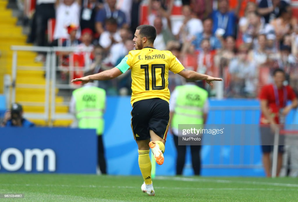 Belgium v Tunisia: Group G - 2018 FIFA World Cup Russia : ニュース写真