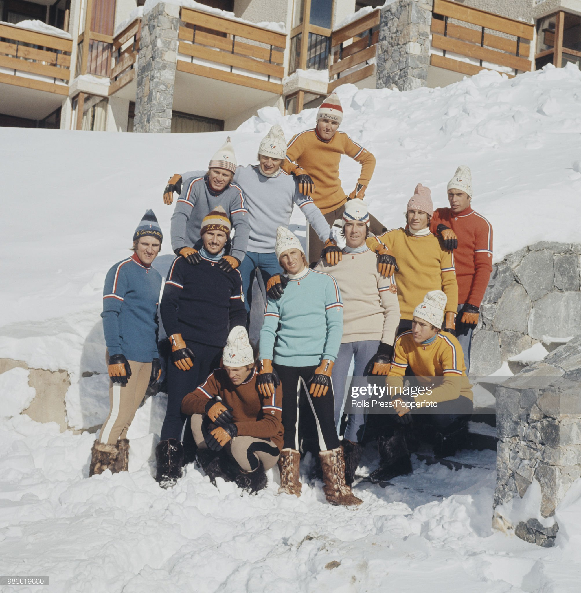 French Ski Team : Photo d'actualité