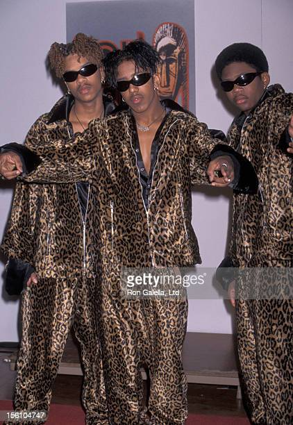 Group IMx attends 10th Annual Soul Train Music Awards on March 29 1996 at the Shrine Auditorium in Los Angeles California