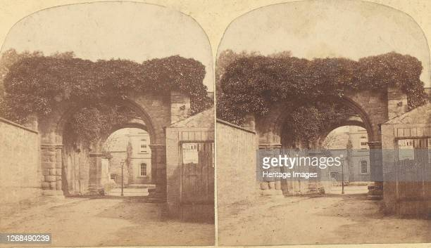Group of 16 Early Stereograph Views of British Abbeys, 1850s-60s. Artist Unknown.