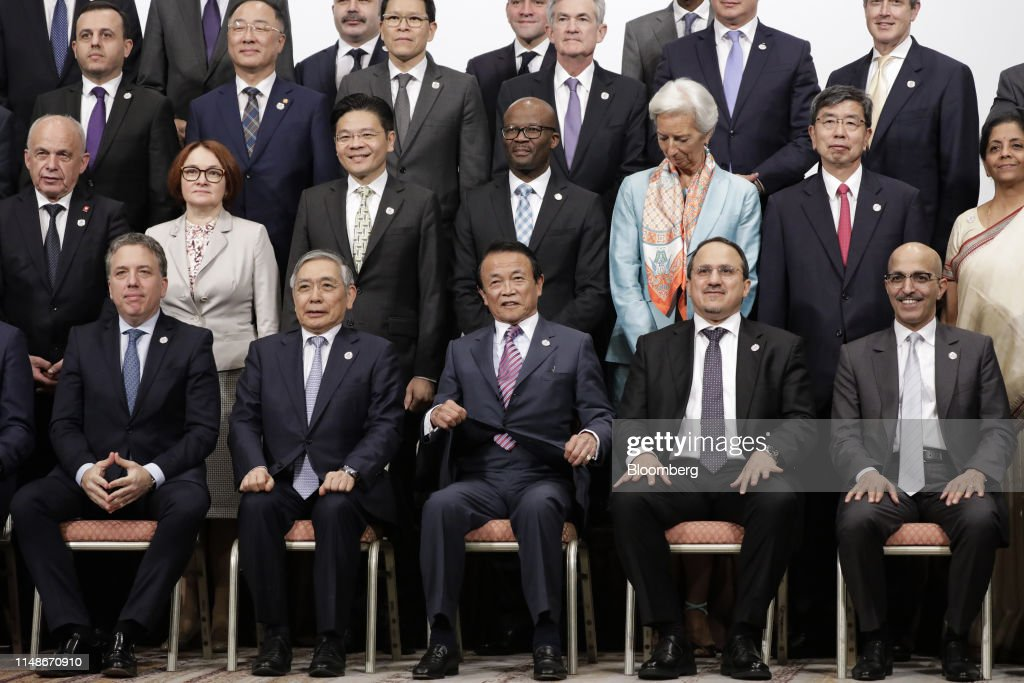 Day Two of the G-20 Finance Ministers and Central Bank Governors Meeting : ニュース写真