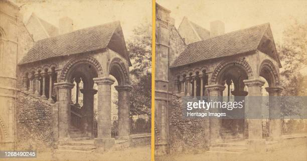 Group of 23 Early Stereograph Views of British Cathedrals, 1860s-80s. Artist Unknown.