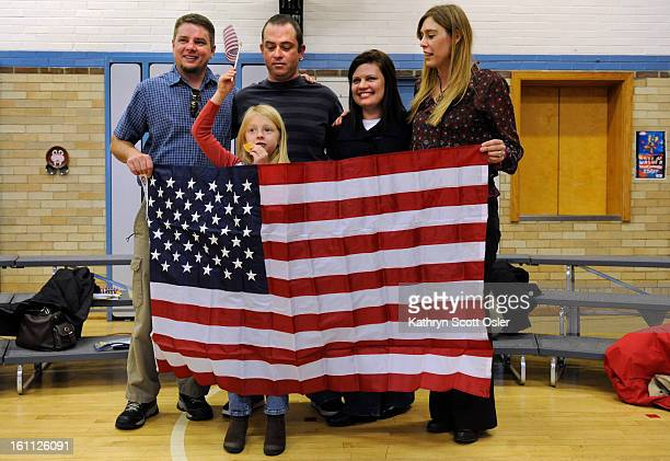 A group of 29 men and women representing 15 countries will recite the Oath of Allegiance and become United States citizens in a ceremony at Dunn IB...