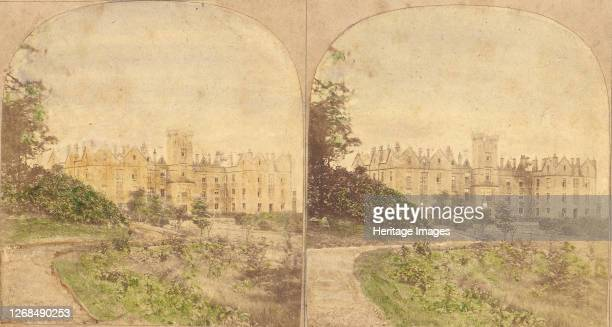Group of 5 Early Stereograph Views of British Hotels and Inns, 1860s-80s. Artist Unknown.