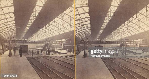 Group of 6 Early Stereograph Views of Birmingham, England, 1860s-80s. Artist Unknown.