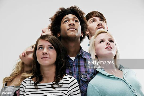 Group of 6 young people
