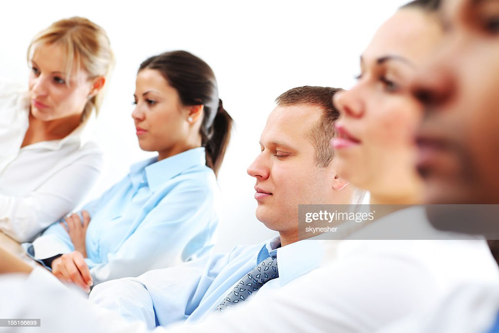 Group of a business people working together. : Stock Photo