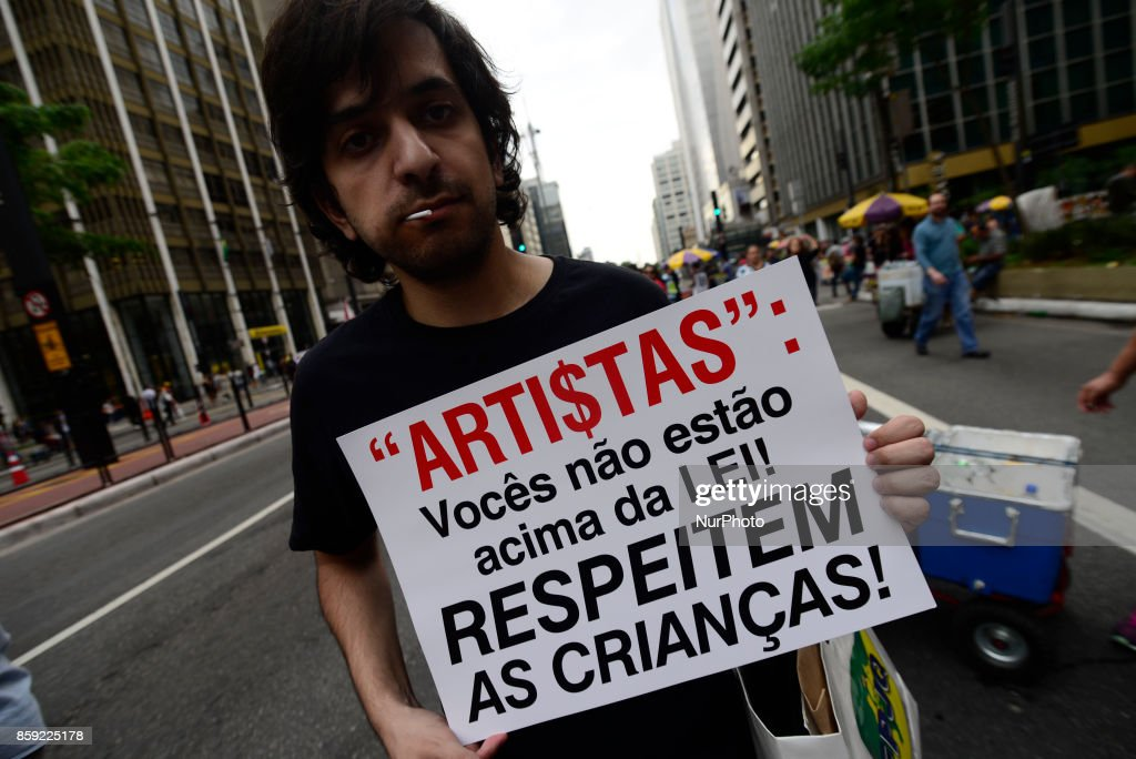 March for Family defence in Sao Paulo : News Photo