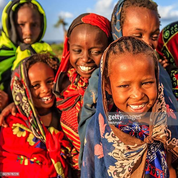 のグループアフリカの子供、東アフリカ