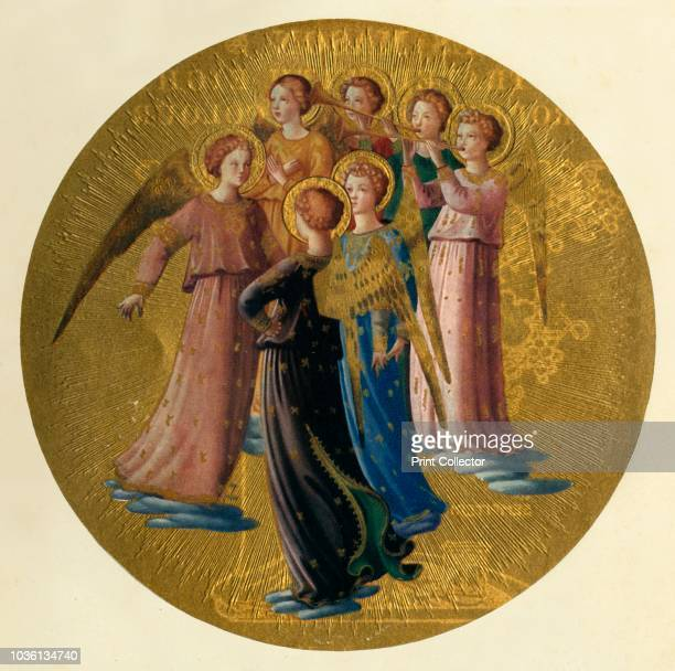 Group of Angels', 15th century, . Italian Early Renaissance painter Fra Angelico was a Dominican friar , and carried out commissions in Florence, and...