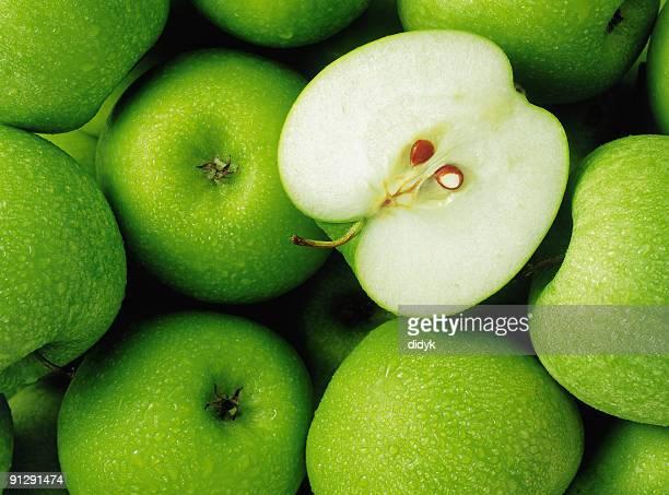 Grupo de maçãs