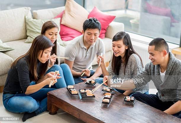 アジアのご友人とのグループ