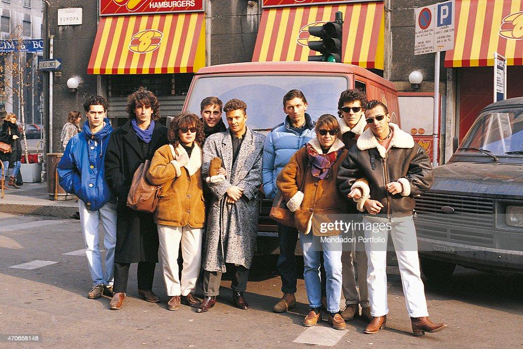 Paninaro, italian street culture, 80's | Menswear | Puffer ...
