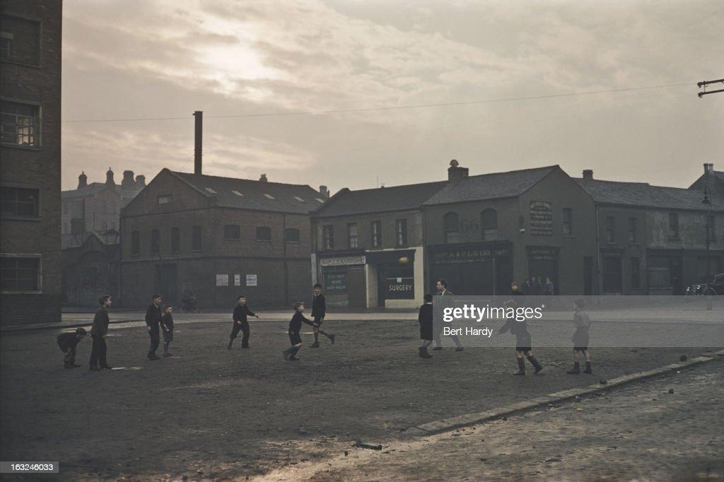Street Football In Belfast : News Photo
