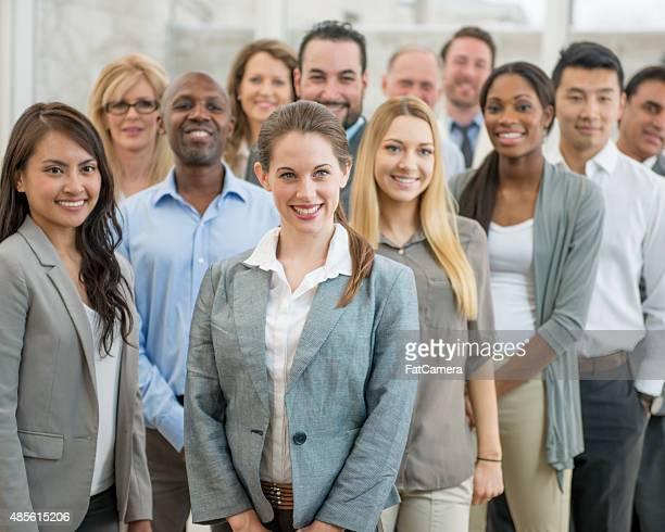 Group of Business Associates