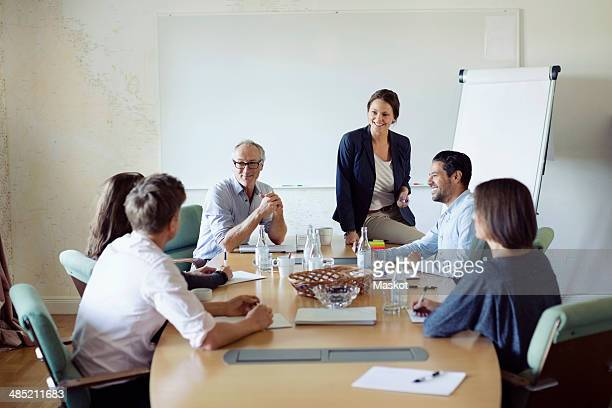 Group of business people in conference meeting