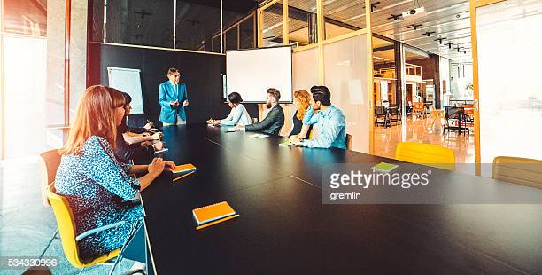 group of business people, seminar, office, education - wide angle stock pictures, royalty-free photos & images