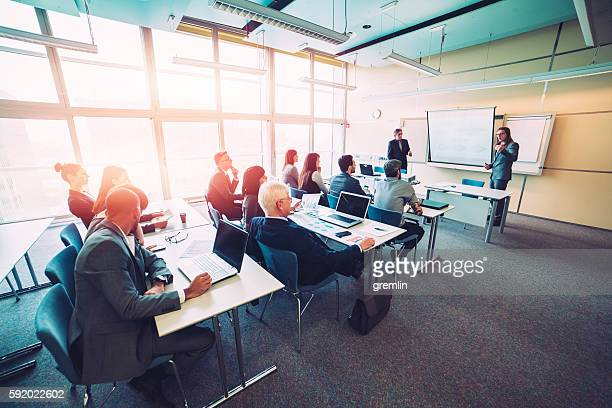 group of business people, seminar, office, education - adult stock pictures, royalty-free photos & images