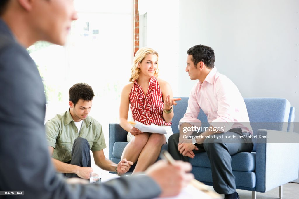 Group of business people working : Stock Photo