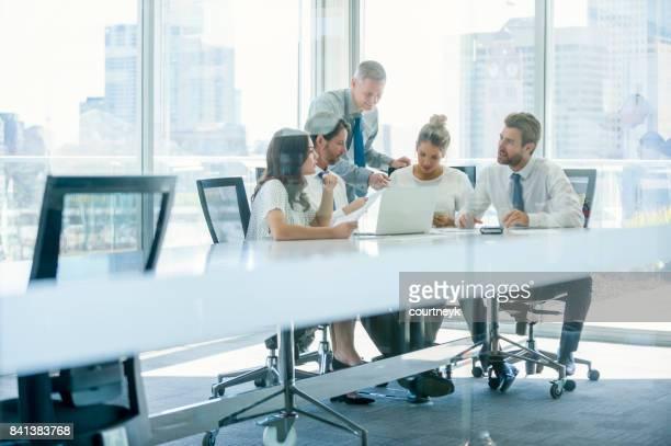 Grupo de personas de negocios de trabajo.