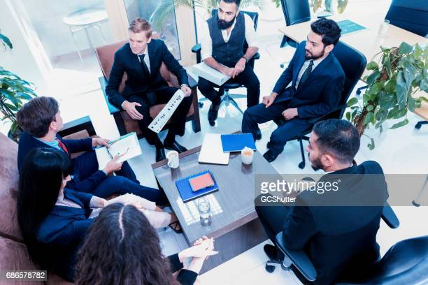 Group of Business Professional attending a meeting