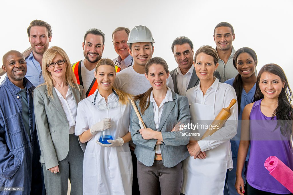 Group of Business Professionals : Stock Photo